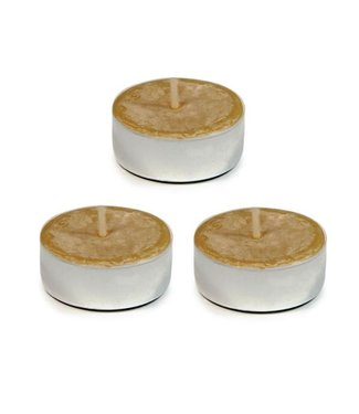 BEESWAX TEALIGHT CANDLE - 3 PACK