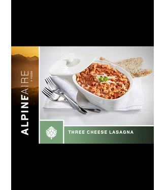 ALPINE AIRE THREE CHEESE LASAGNA