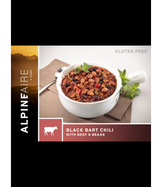 ALPINE AIRE BLACK BART CHILI WITH BEEF & BEANS