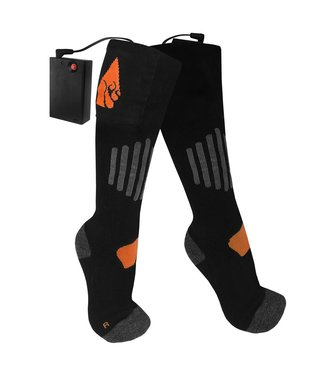 ACTION HEAT AA Battery Heated Socks - Wool
