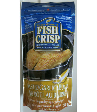 FISH CRISP Garlic and Butter Coating