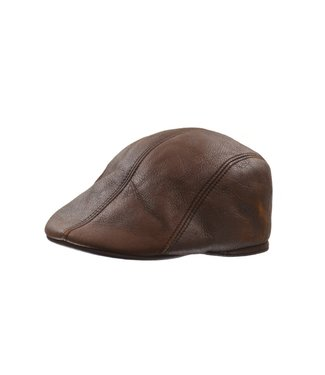 CROWN CAP Shearling Duckbill Ivy Cap