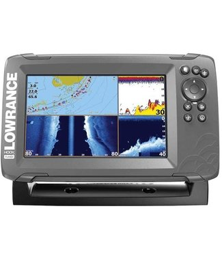 LOWRANCE HOOK² 7 with TripleShot Transducer and US / Canada Nav+ Maps