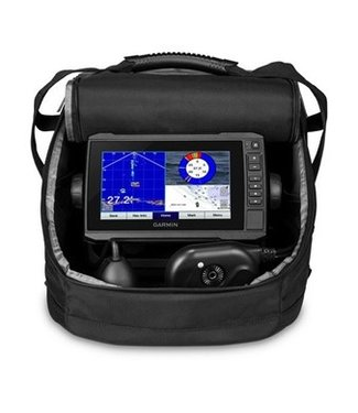 GARMIN PLUS 73CV, SONAR/CHARTPLOTTER, CLEARVÜ™, US LAKEVÜ G3 PANOPTIX™ ICE FISHING BUNDLE