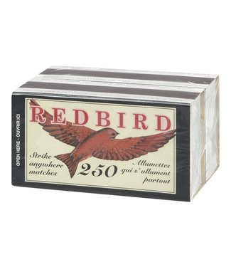 RED BIRD MATCHES RED 500pk