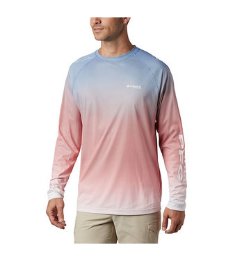 COLUMBIA Men's PFG Terminal Deflector™ Printed Long Sleeve Shirt
