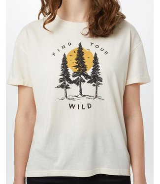 TENTREE W Find Your Wild Relaxed T-Shirt