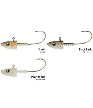 NISHINE LURE WORKS SmeltHead 5/8 oz (18g) - 2Pcs/Pack
