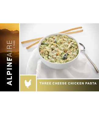ALPINE AIRE THREE CHEESE CHICKEN PASTA