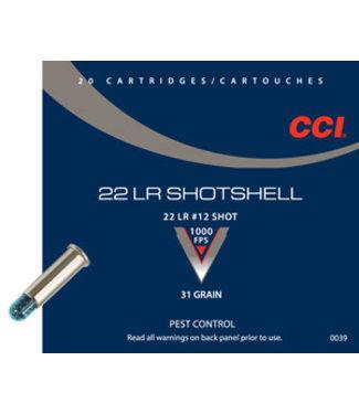 CCI Shotshell 22LR #12 SHOT [1000FPS]