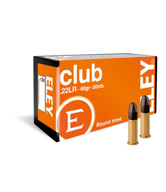 ELEY Club 22LR 40GR LRN [1085 FPS]
