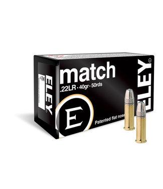 ELEY Match 22LR 40GR LFN [1085 FPS]