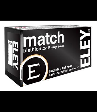 ELEY Match Biathlon 22LR 40gr LFN [1160 FPS]
