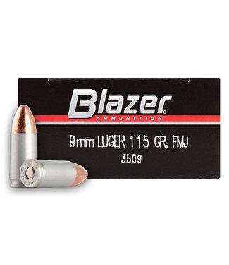 CCI Blazer Aluminum 9MM 115GR FMJ (ALUMINUM CASE)