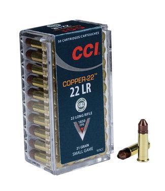 CCI Target Short Range Green 22LR (lead-free) CHP [1650 FPS]