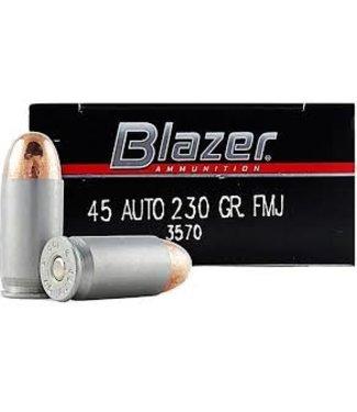 BLAZER Aluminum 45ACP 230GR FMJ (ALUMINUM CASE)