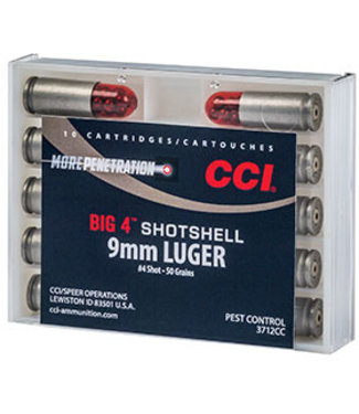 CCI Big 4 Shotshell 9mm #4 SHOT [1000FPS]