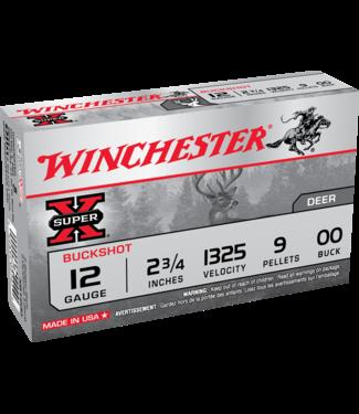 "WINCHESTER Super X Buckshot 12ga 2.75"" 00 Buck"