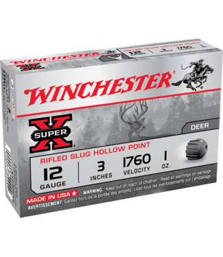 "WINCHESTER Super X Slug 12ga 3"" 1OZ Rifled Slug"