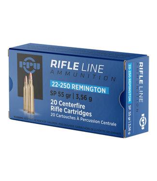 PPU Rifle Line 22-250REM 55GR PSP