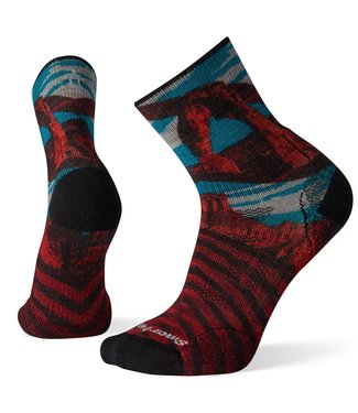 SMARTWOOL PhD® Outdoor Light Arches Print Mid Crew Socks
