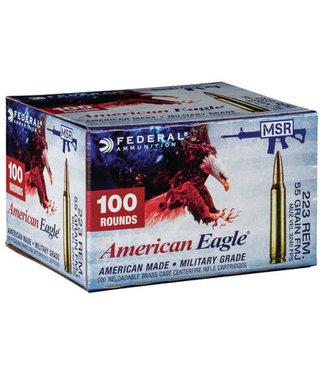 AMERICAN EAGLE AMMO MSR 223REM 55GR FMJ [100RND BULK PACK]
