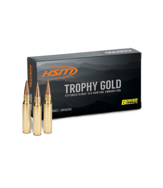 HSM Trophy Gold 300WIN 185GR Berger HPBT Hunting VLD