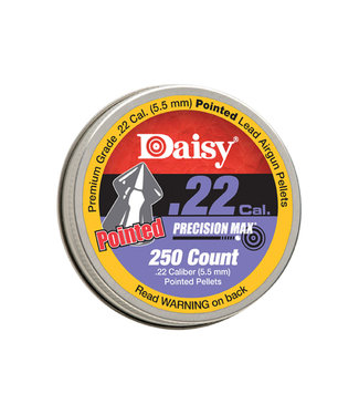 PrecisionMax Pointed Pellets, .22CAL [250-Count]