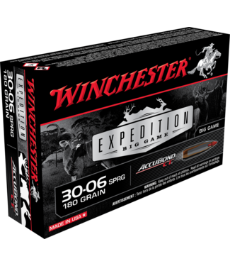 WINCHESTER Expedition Big Game 30-06SPRG 180GR Accubond CT