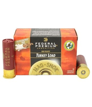 "FEDERAL AMMO Premium Mag Shok Turkey Load 12GA 3"" 2OZ #6 [1175 FPS]"
