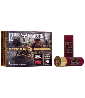 "FEDERAL AMMO Premium 3rd Degree TSS 12GA 3"" 1 3/4OZ #5,6,7 [1250 FPS]"