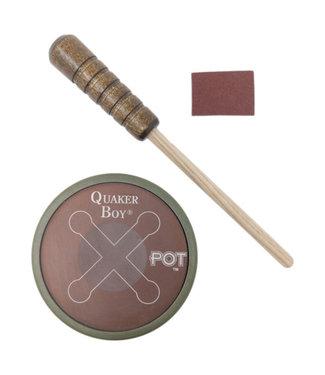 QUAKER BOY Quaker Boy X-Pot Turkey Pot Call