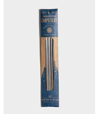UNITED BY BLUE STAINLESS STEEL CHOPSTICK SET