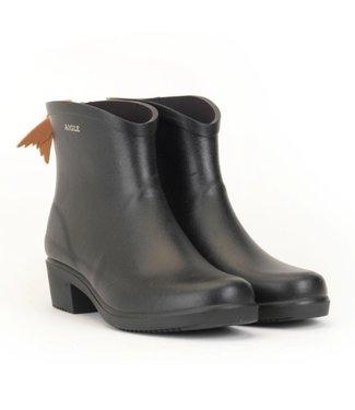 Miss Juliette Rubber Ankle Boots