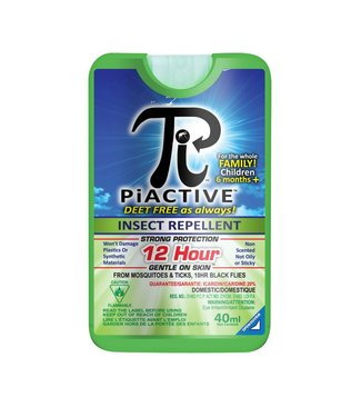 PIACTIVE INSECT REPELLENT WALLET 40ml– PUMP SPRAY