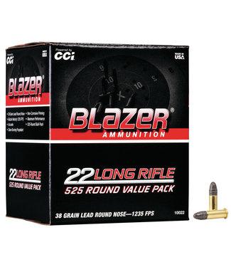 BLAZER Blazer 525RND Value Pack 22LR 38GR LRN [1235 FPS]