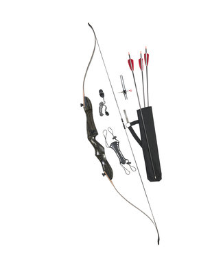 """Pro MAX 62"""" Recurve Bow Kit (Right Hand)"""