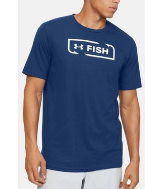 UNDER ARMOUR Men's UA Fish Logo T-Shirt