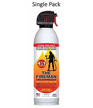 HOME FIRST THE FIREMAN Multi-Purpose Fire Extinguishing Suppressant Spray