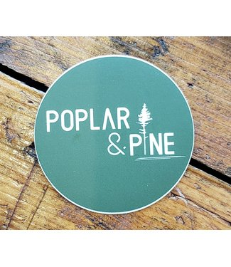 POPLAR & PINE POPLAR AND PINE STICKER