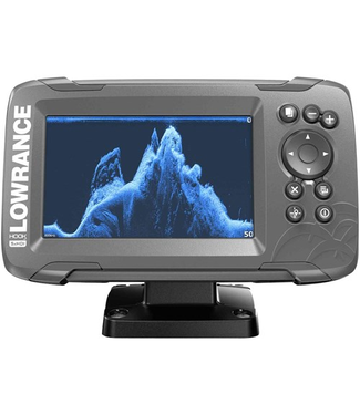 LOWRANCE HOOK² 5 with SplitShot Transducer and US / Canada Nav+ Maps