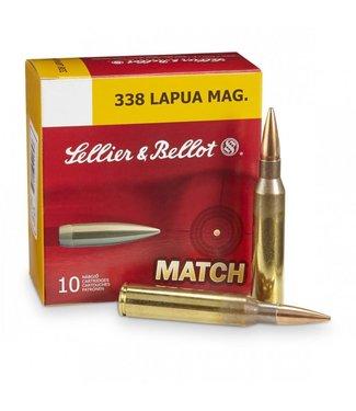 Sellier and Bellot Match 338 Lapua 250GR HPBT