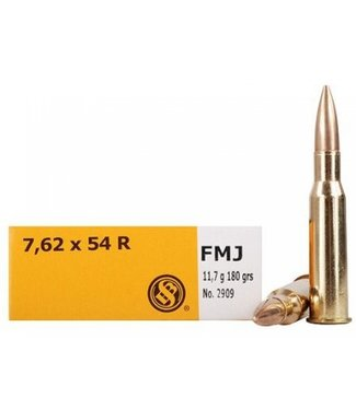 SELLIER AND BELLOT Rifle 7.62x54R 180GR FMJ