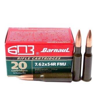 BARNAUL 7.62x54R 174GR FMJ