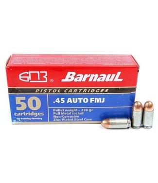 BARNAUL 45ACP  230GR FMJ