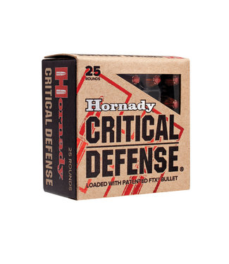 HORNADY Crtical Defense 38SPL +P 110GR FTX