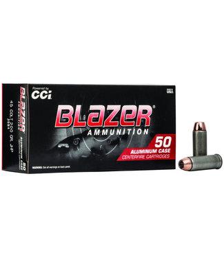 CCI Blazer Aluminum 45 COLT 200GR JHP