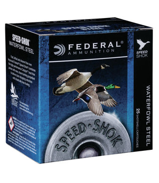 "FEDERAL AMMO Speed  Shok Steel 28GA 2.75"" 5/8OZ #6 [1350FPS]"