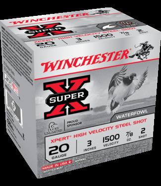 "WINCHESTER XPERT High Velocity Steel 20GA 3"" 7/8OZ #2 [1500 FPS]"