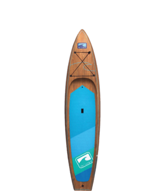 BLU WAVE BOARD CO. INC. BLU WAVE THE ARMADA 11.6 TOURING WOOD FINISH